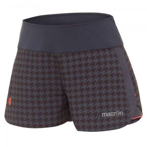 Jodie micro short charcoal printed